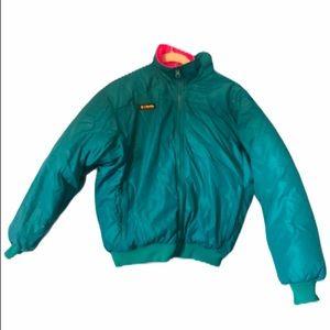 Columbia Retro Reversible Neon Vintage Jacket